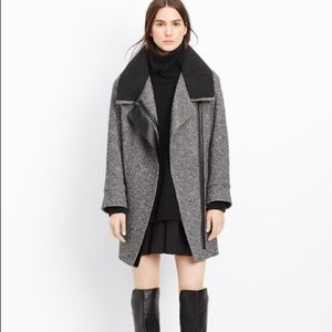 Vince shawl collar wool coat